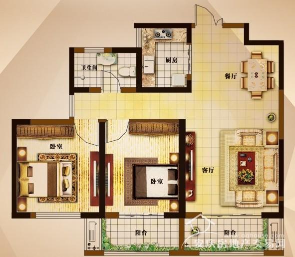 大发三期 92平业主自住精装 南北通透两居室 送储藏室